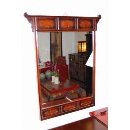 Spegel från Korea mörkbrun - Spegel från Korea (nytillverkad)