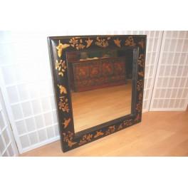 Spegel svart ram  - Spegel med svart ram