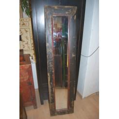 Gammal dörr - spegel
