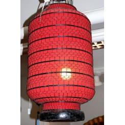 Kinesisk lampskärm röd