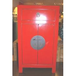 Kinaskåp röd 70 cm h