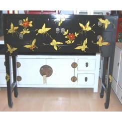 Byrå/sidobord svart fjäril