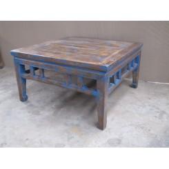 Gammalt bord blå - Antikt bord