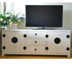 Asiatisk TV bänk vit 176 cm