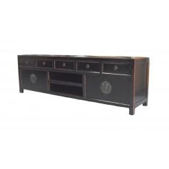 Asiatisk TV bänk svart 180 cm