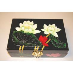 Smyckeskrin med lotusblom