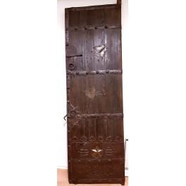 Gammal dörrport antik
