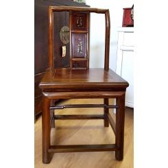 Antik stol från Kina brun