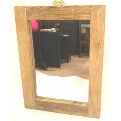 Spegel med vacker natuträram