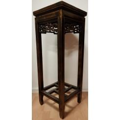 Piedestal svart 80 cm h